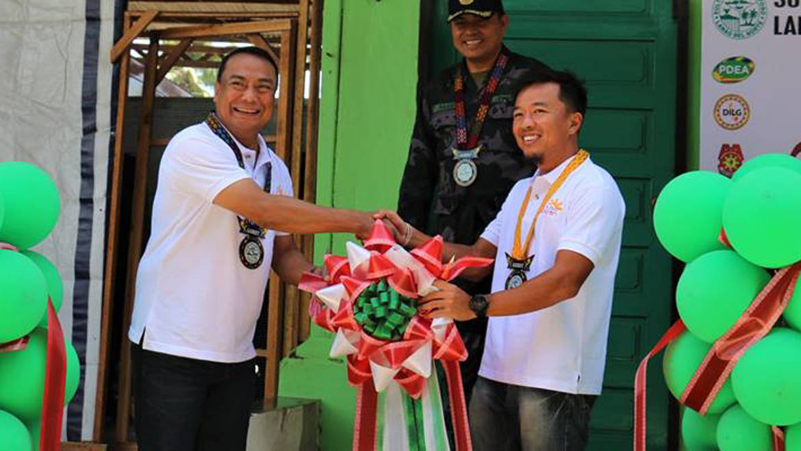 PDEA 10 LAUDS SND LGU FOR ESTABLISHING BALAY SILANGAN