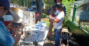 OCD-10 DONATES PPEs TO SND FRONTLINERS, LSI's